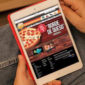 diseño de pagina web hot el punto múltiple del sabor