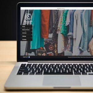 diseño de pagina web alternative cloting