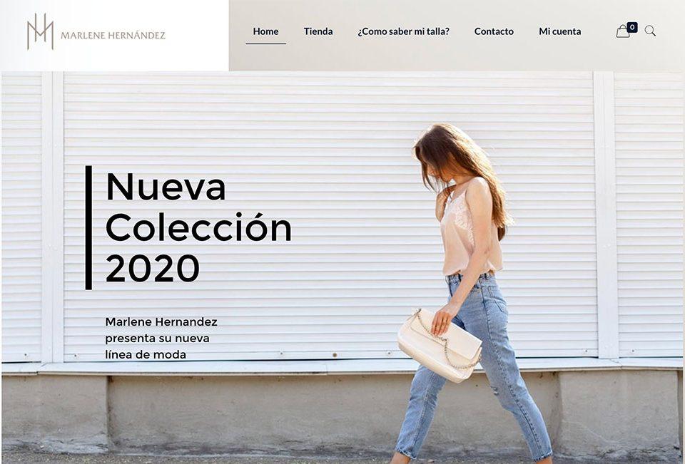 pagina web marlene hernandes design