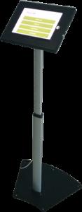 pedestal tablet satisfaccion al cliente