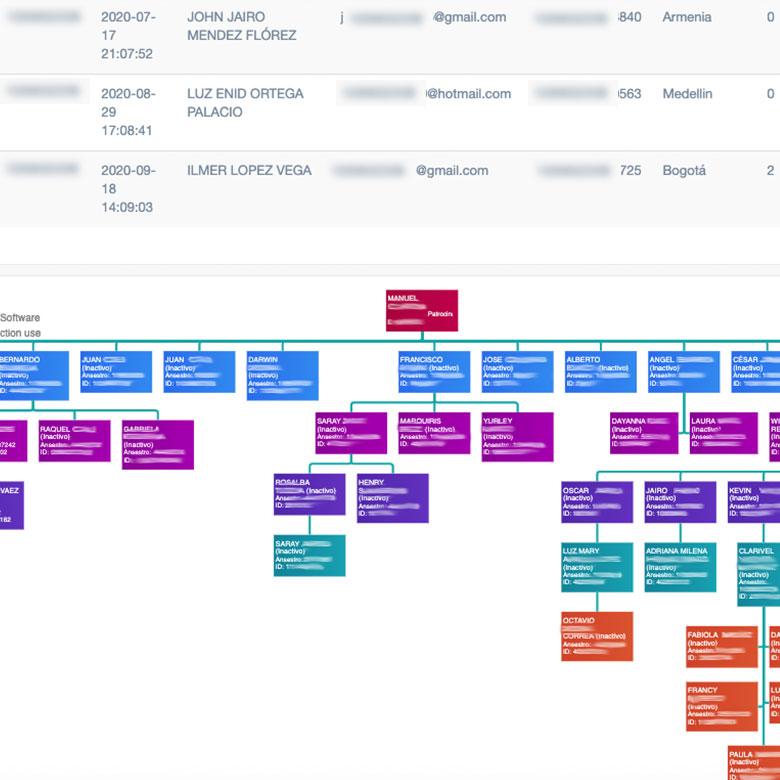 mi red grafica y detallada